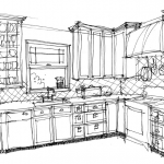 NDB_3-Portfolio-4_109_Sketches Novell Kitchen