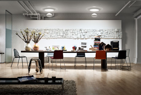 Because of the need for natural light, studios also benefit from the installation of solar tubes. Source: Velux