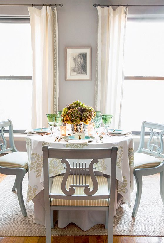 thanksgiving table tablescape white flower decor design home decoration decorating